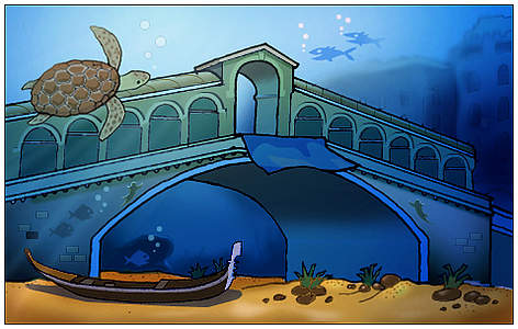 Global warming could soon make Venice look more like Atlantis rel=