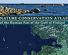 Cover of environmental atlas of the Gulf of Finland.
