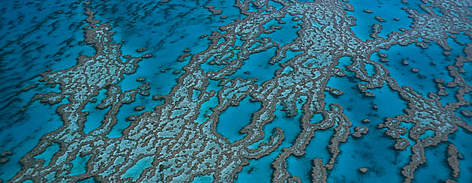 Hardy Reef, aerial view. Great Barrier Reef &amp;amp; Coral Sea, Australia rel=