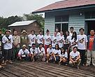 HoB School Trip participants, Nugie and WWF staff who helped make the whole adventure possible