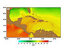 SST (Sea Surface Temperatures) - April. / ©: http://www.rsmas.miami.edu