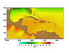 SST (Sea Surface Temperatures) - December. / &copy;: http://www.rsmas.miami.edu