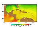 SST (Sea Surface Temperatures) - March. / &copy;: http://www.rsmas.miami.edu