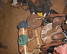 Home-made Kilalaky drum-kit.