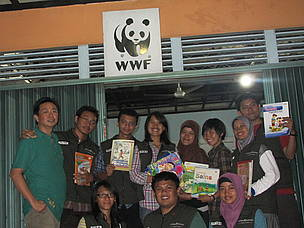 WWF-Indonesia and Indonesia Teaching Foundation in West Kalimantan
