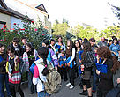 School children visiting WWF Caucasus PO