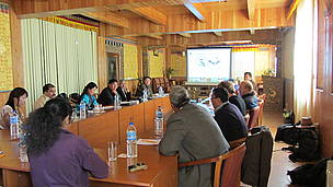 Participants at the SWSH strategic meeting