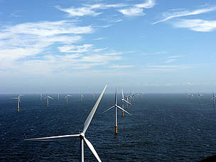 Prinses Amalia Wind Farm / &copy;: Eneco