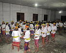 Circling and dancing - Women from Krayan