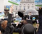 On 9 April 2013,  CAN Europe and WWF staged a live carbon auction in front of the European Parliament with a giant black balloon representing one tonne of CO2 emissions and outlandish bidders. 