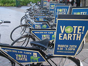 Vote Earth bikes, Singapore EH 2009