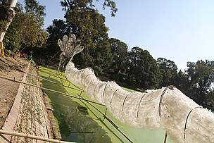 Naga by artist Leang Seckon