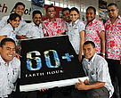ASCO Motors Staff support Earth Hour