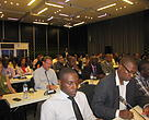 Participants listen attentively during a workshop and capacity building event on the implementation of Mozambique's Green Growth Action Plan held from 28th to 30th August 2013, and brings together representatives from various Government institutions, civil society organizations, academia and various diplomatic missions.