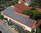 100kW system on the downtown public library, Gainesville