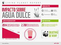 Iinfrome Planeta Vivo - Impacto sobre el agua dulce / ©: WWF International