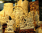 Ivory carvings in Vietnam