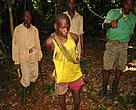 Arrested poachers are not comfortable with WWF installations such the one in Malea Ancien.