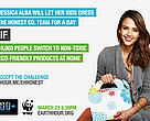 Alba is calling on 10,000 people to commit to switch to using non-toxic products in their home