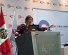 Katia Maia en ComuniCop, Perú
