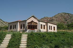 Visitor Center of Khosrov Reserve in Vedi