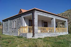 Visitor Center of Khosrov Reserve in Garni