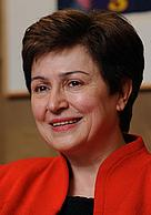 Kristalina Georgieva, Member of the EC in charge of International Cooperation, Humanitarian Aid and ... / ©: EC