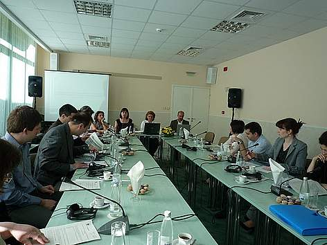 PES Danube project, Steering Committee meeting.  rel=