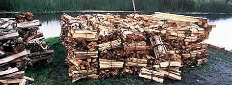 Bulks of charcoal ready for the local markets. Timber for charcoal is one of the greatest threat to ... rel=
