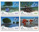 Mangroves of Fiji Stamps