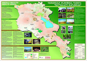 Map on PAs of Armenia / &copy;: WWF Armenia