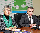 Ms. Yolanda Kakabadse meets the Minister Goga Khachidze and other officials