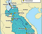 Mekong hydropower development - planned, under construction an operational