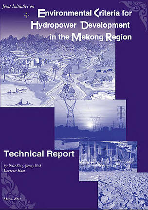 Environmental Criteria for Hydropower Development in the Mekong Region
