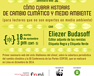 Ciclo de encuentros en línea sobre la cobertura periodística del cambio climático y la COP 20.