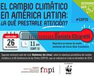 WEBINARS PARA PERIODISTAS ¡HABLEMOS DEL CLIMA!