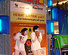 WWF Indonesia recruits more than 1000 new PowerSwitch! activists with fun edutainment actions in Jakarta