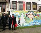 Visita de Ministro del Medio Ambiente, Pablo Badenier a WWF Chile en Valdivia