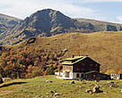 Mountain hut, Central Balkan National Park, Bulgaria.