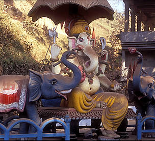 Ganesh, the elephant-headed Hindu god, in Assam. The elephant is revered as a living embodiment of Ganesh, but increasing conflict with the species tests people's faith.