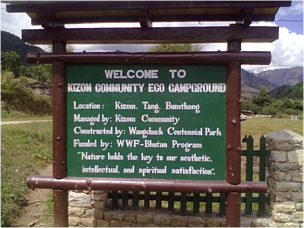 The Tang eco-camp ground