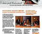 Toksave newsletter cover, October 2006