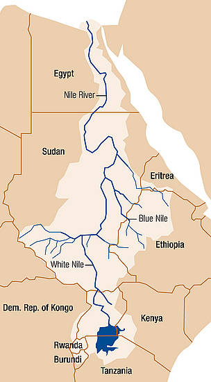 Nile River basin / ©: WWF