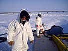 Oil spill in North Slope, Alaska. / &copy;: State of Alaska Department of Environmental Conservation (DEC)