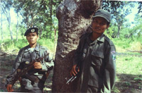 Police Officers on patrol / &copy;: WWF-Canon / Jane STORY