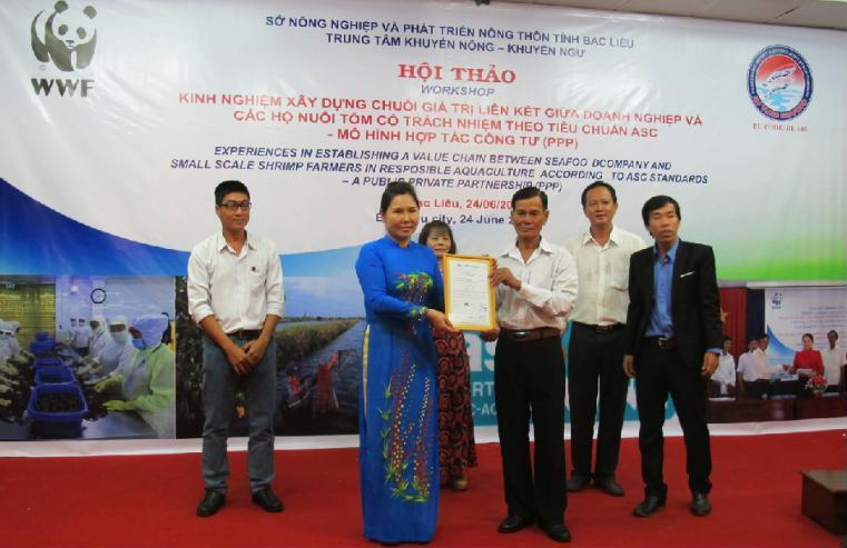 Wwf Brings Shrimp Products From 52 Small Scale Shrimp Farmers To