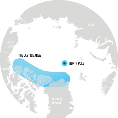 WWF - Arctic map, the last sea ice