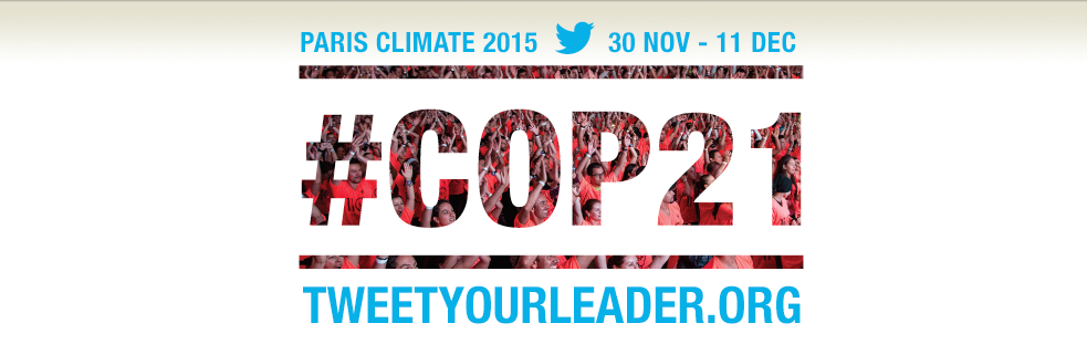 COP 21 - Tweet your leader