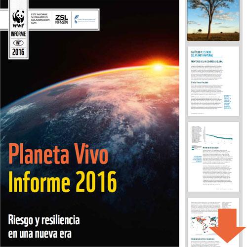 Descarga el Informe Planeta Vivo 2016 / Completo / Español