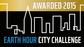 Belo Horizonte was awarded the title Global Earth Hour Capital in Earth Hour City Challenge 2015